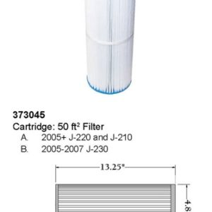 Jacuzzi J200 Filters
