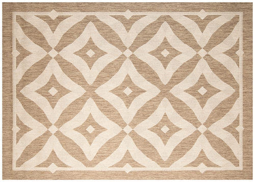 "Premier Outdoor Rugs - Silver Collection (Large: 7'10"" x 10')"