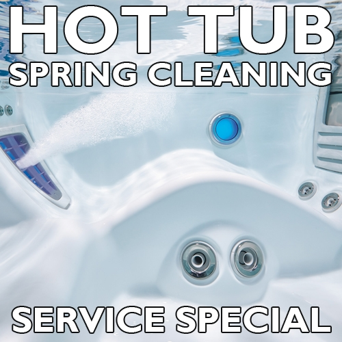 Spring Cleaning Service Special – Hot Tub