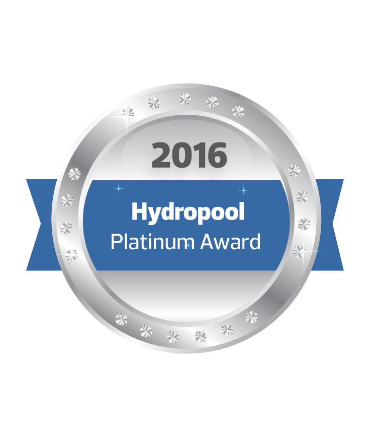 2016 Hydropool Platinum Award